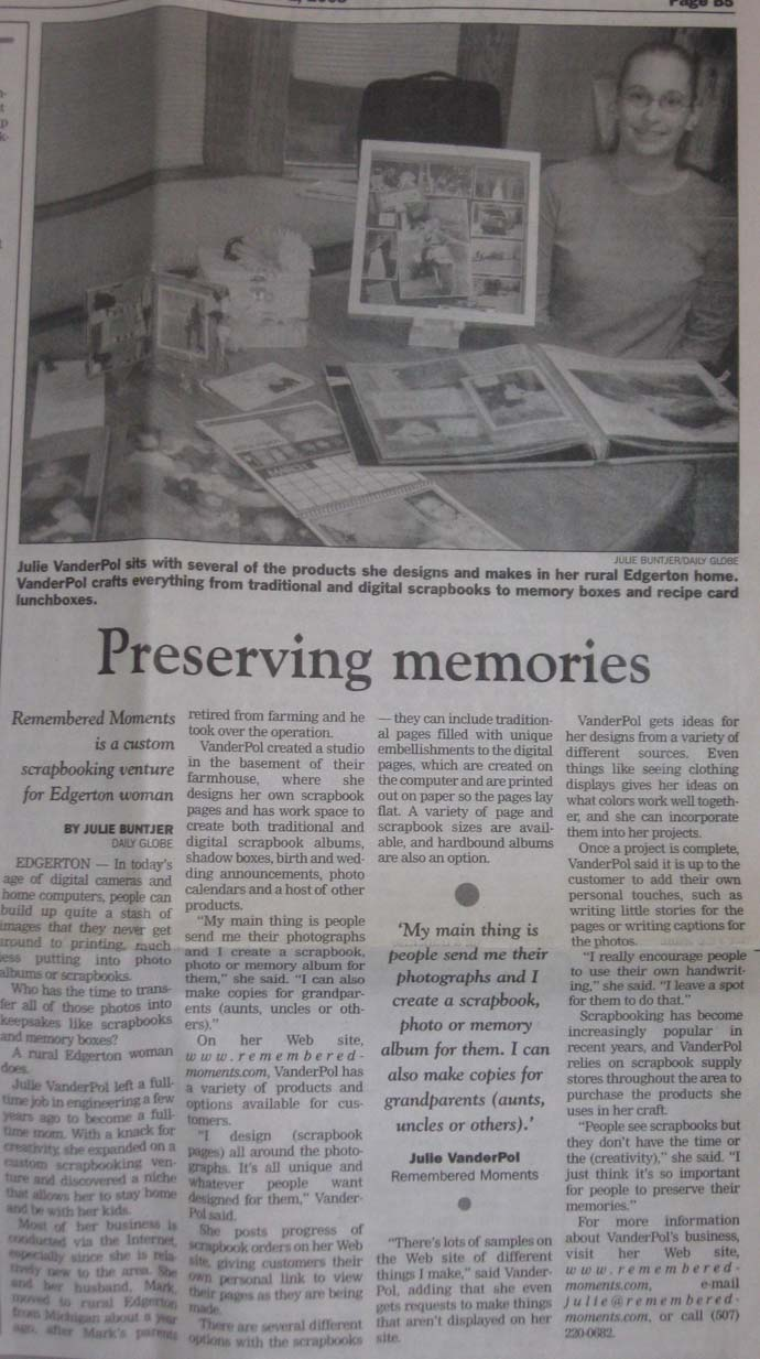 preserving memories custom scrapbooking 2